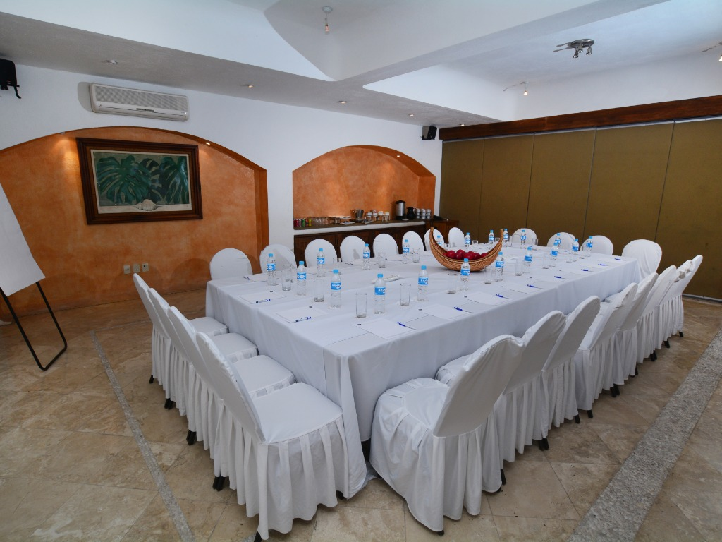 We have a boardroom for those small Events